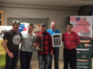 2017 Russel Bonspiel Winners